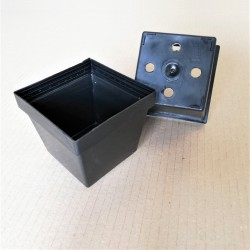 Vaso quadrato QB4 10x10x8,5 cm